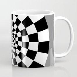 Checker Tunnel Coffee Mug