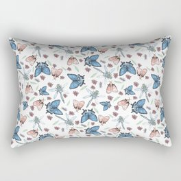 insects pattern Rectangular Pillow