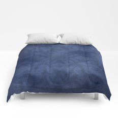 Royal Blue Abstract Comforters