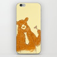 office iPhone & iPod Skins featuring Office Bear by Tobe Fonseca