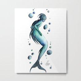 Mermaid 19 Metal Print