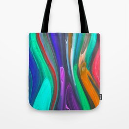 393 - Abstract Colour Design Tote Bag