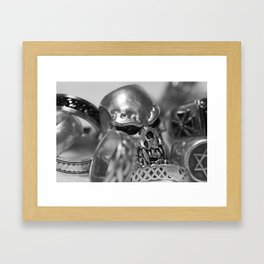 Knuckle Sandwich III Framed Art Print