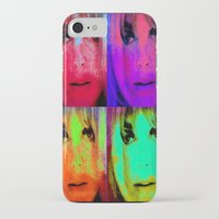 kris tate iPhone & iPod Cases featuring Sharon Tate by Ganech joe
