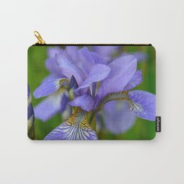 Siberian Iris by Teresa Thompson Carry-All Pouch