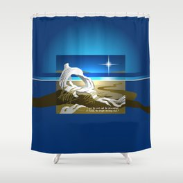 The Bright Morning Star Shower Curtain