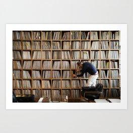 Vinyl Wall #2 Art Print