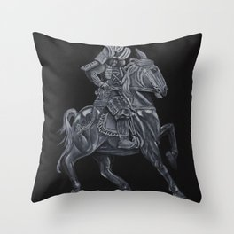 An Angry Wind Throw Pillow