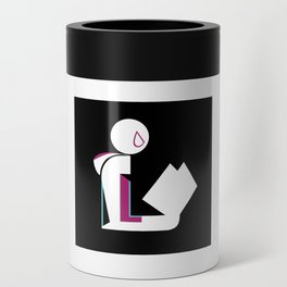 Spider Lady Reads Can Cooler
