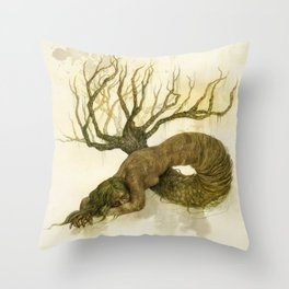 Serra Pulmonis Throw Pillow