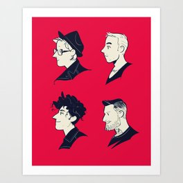 We Are the Fall Out Art Print
