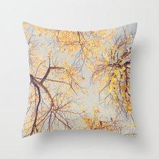 Autumn Sky Throw Pillow