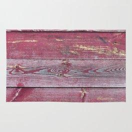 Pink Barn Wood Rug