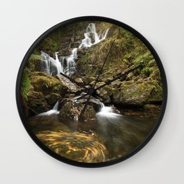 Torc Waterfall, Killarney, Ireland Wall Clock