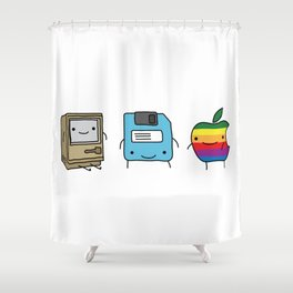 The Three Best Friends Shower Curtain