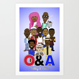 O&A All-Stars Art Print