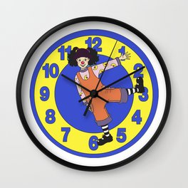 Clock Stretch - The Big Comfy Couch Wall Clock