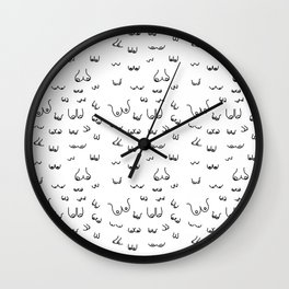 The Booby Trap Wall Clock
