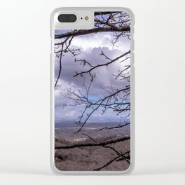 Through the branches Clear iPhone Case