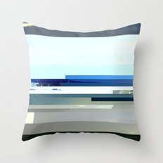 DIGITAL GLITCH 7 Throw Pillow