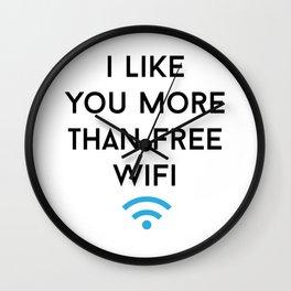 wifi Wall Clock