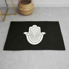 Jain Symbol For Non-Violence Rug