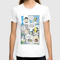 gta v T-shirts featuring GTA - Comic strip by Azlee Mahat