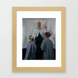 the Hierophant Framed Art Print