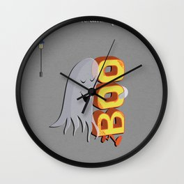 Just Me And My Boo Wall Clock