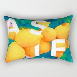 As If #society6 #decor #buyart Rectangular Pillow