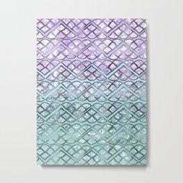 MERMAID Glitter Scales Dream #2 #shiny #decor #art #society6 Metal Print