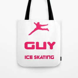 Lovely Gift Ice Skating Tshirt Design Cares about sakating Tote Bag