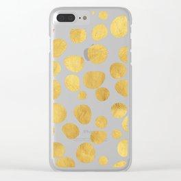 Gold Spots #society6 #decor #buyart Clear iPhone Case