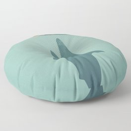 Shark Attack Floor Pillow