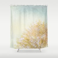 aelwen Shower Curtains featuring Tree by Pure Nature Photos