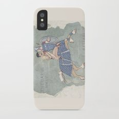 Centaurus and Retiarius iPhone X Slim Case