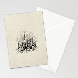 Pyramidal Neuron Forest Stationery Cards