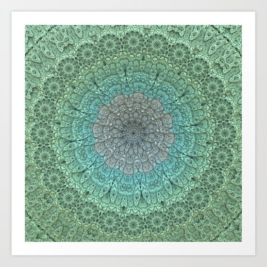 Faded Lace Art Print