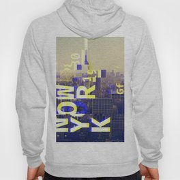 GLITCH CITY #00 NEW YORK Hoody