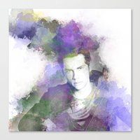 stiles Canvas Prints featuring Stiles by NKlein Design