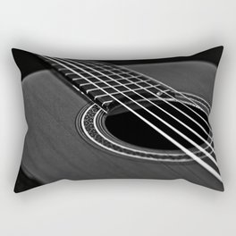 La guitarra Rectangular Pillow