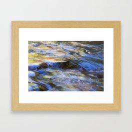 Water Colours Framed Art Print