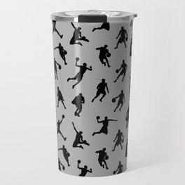 Basketball Players // Silver Travel Mug