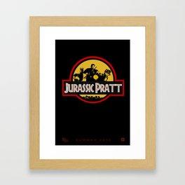 Jurassic Pratt Framed Art Print