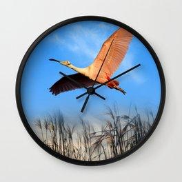 Morning Flight 1 Wall Clock