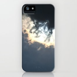 Solar Eclipse of the Heart iPhone Case