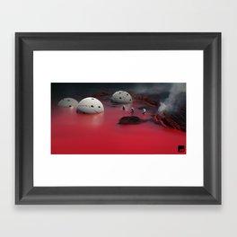 X4 Framed Art Print
