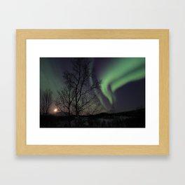 Nordlys Framed Art Print