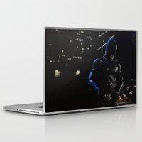superhero Laptop & iPad Skins featuring Superhero by VAWART