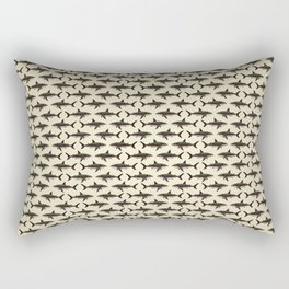 Pattern: Great White Shark ~ Vintage ~ (Copyright 2015) Rectangular Pillow